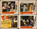 """Movie Posters:Drama, The Wise Virgin (PDC, 1924). Overall: Fine. Title Lobby Card &Lobby Cards (3) (11"""" X 14""""). Drama. From the Collection of ...(Total: 4 Items)"""