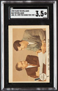 """Baseball Cards:Singles (1950-1959), 1959 Fleer Ted Williams """"Ted Signed For 1959"""" #68 SGC VG+ 3.5...."""