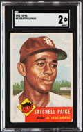 Baseball Cards:Singles (1950-1959), 1953 Topps Satchell Paige #220 SGC Good 2....