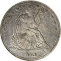 Seated Half Dollars: , 1842-O 50C Small Date, Small Letters XF45 NGC. The New Orleans mintstruck close to 1 million half dollars in 1842, but the...