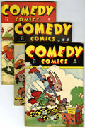 """Golden Age (1938-1955):Humor, Comedy Comics Group - Davis Crippen (""""D"""" Copy) pedigree (Timely, 1943-46).... (Total: 10)"""