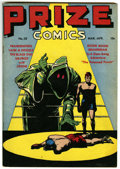 Golden Age (1938-1955):Adventure, Prize Comics #58 (Prize, 1946) Condition: FN....
