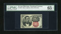 Fractional Currency:Fifth Issue, Fr. 1266 10c Fifth Issue PMG Gem Uncirculated 65EPQ. Spectacularmargins, vibrant inks and superb paper quality are all foun...