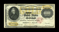 Large Size:Gold Certificates, Fr. 1225 $10000 1900 Gold Certificate Extremely Fine. This note wasnot intended for circulation, but it was used within the...