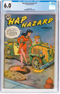 Golden Age (1938-1955):Humor, Hap Hazard Comics #13 (Ace, 1947) CGC FN 6.0 Cream to off-white pages....