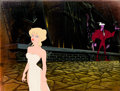 Animation Art:Production Cel, Cool World Super Holli Would and Sparks Production Cel Setup and Master Painted Production Background (Paramount, 1992...