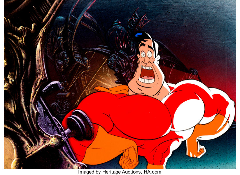 Cool World Super Jack Deebs Production Cel Setup And Master Painted Lot 97759 Heritage Auctions