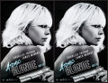 """Movie Posters:Action, Atomic Blonde (Focus Features, 2017). Rolled, Very Fine/Near Mint.Mini Posters (4) Identical (11"""" X 17"""") SS Advance. Action...(Total: 4 Items)"""