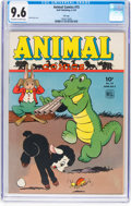 Golden Age (1938-1955):Funny Animal, Animal Comics #15 File Copy (Dell, 1945) CGC NM+ 9.6 Off-white towhite pages....