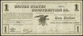 Obsoletes By State:Indiana, Terre Haute, IN - United States Construction Co. $1 ND (ca. 1908) Very Fine.. ...