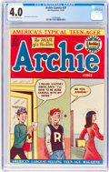 Golden Age (1938-1955):Humor, Archie Comics #37 (Archie, 1949) CGC VG 4.0 Off-white to white pages....