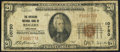 Rogers, AR - $20 1929 Ty. 1 The American NB Ch. # 10750 Very Good-Fine