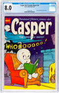 Golden Age (1938-1955):Cartoon Character, Casper the Friendly Ghost #18 (Harvey, 1954) CGC VF 8.0 Off-white to white pages....