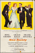 "Movie Posters:Musical, High Society (MGM, 1956). Folded, Fine/Very Fine. One Sheet (27"" X 41""). Musical.. ..."