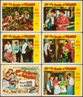 Movie Posters:Comedy, Ma and Pa Kettle at Waikiki & Other Lot (UniversalInternational, 1955). Fine/Very Fine. Title Lobby Card, Lobby Cards(5), ... (Total: 14 Items)