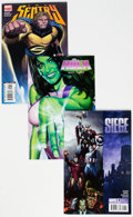 Modern Age (1980-Present):Miscellaneous, Marvel Modern Age Long Box Group (Marvel, 2000s-10s) Condition: Average VF....