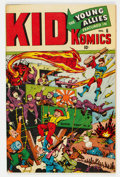 Golden Age (1938-1955):War, Kid Komics #6 (Timely, 1944) Condition: VG/FN....