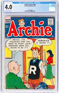 Archie Comics #88 (Archie, 1957) CGC VG 4.0 Off-white to white pages