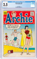 Silver Age (1956-1969):Humor, Archie Comics #95 (Archie, 1958) CGC GD+ 2.5 Off-white to white pages....