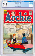 Silver Age (1956-1969):Humor, Archie Comics #97 (Archie, 1958) CGC GD/VG 3.0 Off-white to white pages....
