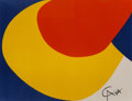 Prints & Multiples:Print, Alexander Calder (1898-1976). Untitled, from Flying Colors (three works), 1975. Lithographs in colors on Arches pape... (Total: 3 Items)