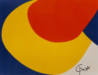 Alexander Calder (1898-1976) Untitled, from Flying Colors (three works), 1975 Lithographs