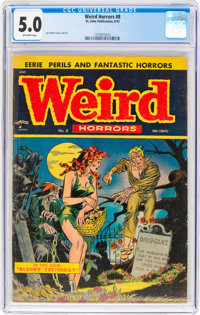 Weird Horrors #8 (St. John, 1953) CGC VG/FN 5.0 Off-white pages
