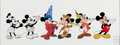 Animation Art:Seriograph, Mickey Through The Years Mickey Mouse Limited Edition Serigraph (Walt Disney, 1993)....