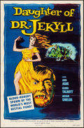"Movie Posters:Horror, Daughter of Dr. Jekyll (Allied Artists, 1957). Folded, Fine/Very Fine. One Sheet (27"" X 41""). Horror.. ..."