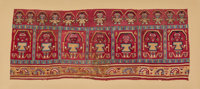 A Superb Chimu Textile c. 900-1450 AD