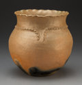 American Indian Art:Pottery, A Picuris Micaceous Clay Jar...