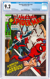 The Amazing Spider-Man #101 (Marvel, 1971) CGC NM- 9.2 Off-white to white pages