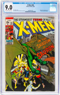 Silver Age (1956-1969):Superhero, X-Men #60 (Marvel, 1969) CGC VF/NM 9.0 Off-white to white pages....
