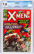 Silver Age (1956-1969):Superhero, X-Men #12 (Marvel, 1965) CGC FN/VF 7.0 Off-white pages....