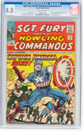 Silver Age (1956-1969):Superhero, Sgt. Fury and His Howling Commandos #13 (Marvel, 1964) CGC VF+ 8.5 Off-white pages....