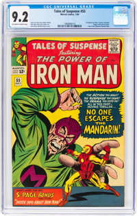 Tales of Suspense #55 (Marvel, 1964) CGC NM- 9.2 Off-white to white pages