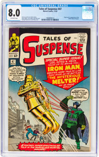 Tales of Suspense #47 (Marvel, 1963) CGC VF 8.0 Off-white pages