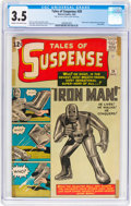 Silver Age (1956-1969):Superhero, Tales of Suspense #39 (Marvel, 1963) CGC VG- 3.5 Cream to off-whitepages....