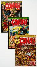Bronze Age (1970-1979):Adventure, Conan the Barbarian Group of 40 (Marvel, 1971-75) Condition: Average VG.... (Total: 40 Comic Books)