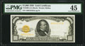 Small Size:Gold Certificates, Fr. 2408 $1,000 1928 Gold Certificate. PMG Choice Extremely Fine 45.. ...