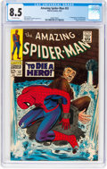 Silver Age (1956-1969):Superhero, The Amazing Spider-Man #52 (Marvel, 1967) CGC VF+ 8.5 Off-white pages....