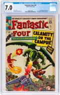 Silver Age (1956-1969):Superhero, Fantastic Four #35 (Marvel, 1965) CGC FN/VF 7.0 Cream to off-white pages....