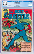 Golden Age (1938-1955):Superhero, Blue Beetle #33 (Fox Features Syndicate, 1944) CGC VF- 7.5 Cream to off-white pages....