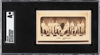 "Extremely Rare C. 1866 Grotecloss Studio ""Union of Morrisania"" Team CDV SGC Authentic"