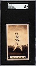 "Baseball Cards:Singles (Pre-1930), C. 1866 Grotecloss CDV Charles ""The Old Woman"" Pabor SGC Authentic. ..."