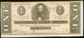Confederate Notes:1864 Issues, T71 $1 1864 PF-12 Cr. 574 Extremely Fine-About Uncirculated.. ...