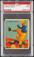 Football Cards:Singles (Pre-1950), 1935 National Chicle Clarke Hinkle #24 PSA VG 3....