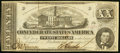 Confederate Notes:1862 Issues, T51 $20 1862 PF-4 Cr. 365 About Uncirculated.. ...