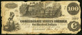 Confederate Notes:1862 Issues, T39 $100 1862 PF-5 Cr. 291 Very Good-Fine.. ...
