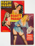 Magazines:Vintage, Beauty Parade August 1946 and January 1953 Group (Beauty Parade, Inc., 1946-53) Condition: Average VG-.... (Total: 2 Items)